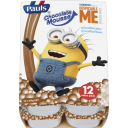 Photo of Pauls Chocolate Mousse 12x50g