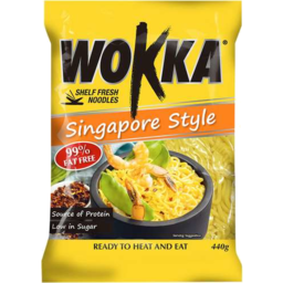Photo of Wokka Noodle Singapore 440g