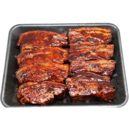 Photo of BULK PORK SPARE RIBS MARINATED, BBQ OR EXOTIC GRILL 600g
