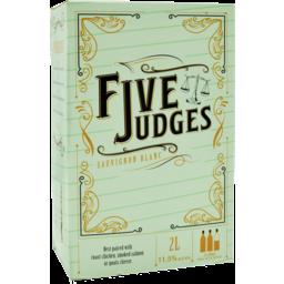 Photo of Five Judges Sauv Blanc Cask 2l 2l