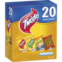 Photo of Twisties Variety Pack 20 Pack