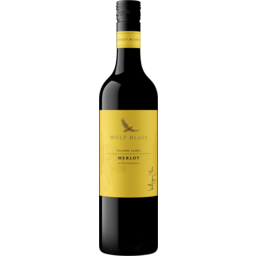Photo of Wolf Blass Yellow Label Merlot 750ml