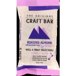 Photo of The Original Craft Bar Roasted Almond & Vanilla Single 65g