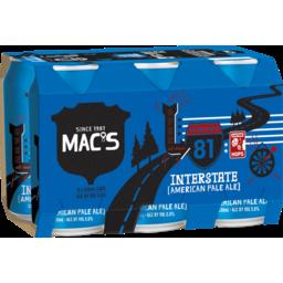 Photo of Macs Interstate Beer American Pale Ale 6 Pack