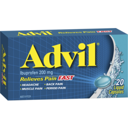 Photo of Advil Liquid Capsules 20 Pack