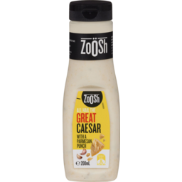 Photo of Zoosh Great Caesar Dressing 200ml