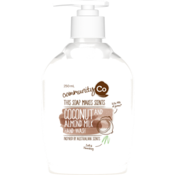Photo of Community Co Coconut And Almond Milk Hand Wash 250ml