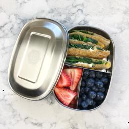 Photo of Ever Eco Bento Snack Box 3 Compartment