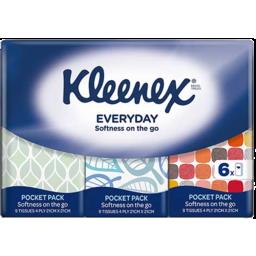 Photo of Kleenex Facial Tissues Pocket Pack Soft 4ply 6x9pk