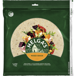 Photo of Helga's Mixed Grain Wraps Large 8 Pack 560g