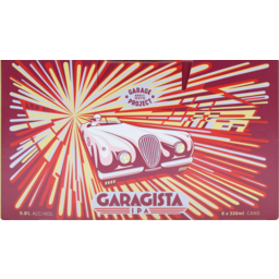 Photo of Garage Project Garigista Ipa Beer 6.0x300ml
