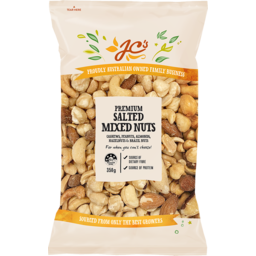 Photo of JC's Mixed Nuts Salted Premium 350g