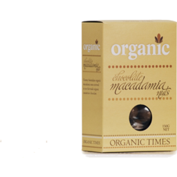 Photo of ORGANIC TIMES:OT Milk Chocolate Macadamias 150g