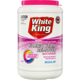 Photo of White King Fabric Stain Remover Regular 1kg