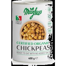 Photo of Manfuso - Chickpeas Cert Org - 400g