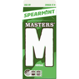 Photo of Masters Spearmint Milk 600ml