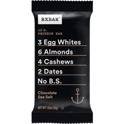 Photo of Rxbar Chocolate Sea Salt Protein Bar 52g