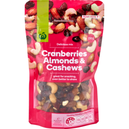 Photo of WW Cranberries Almonds & Cashews 150g