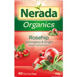 Photo of Nerada Org Rosehip T/Bag 40's