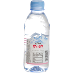 Photo of Evian® Natural Mineral Water 330ml Bottle