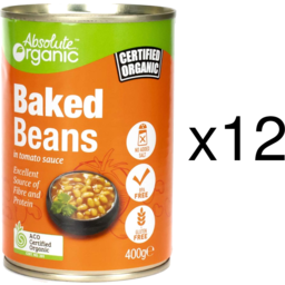 Photo of Absolute Organic Baked Beans - Box Of 12