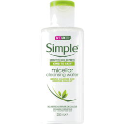 Photo of Simple Micellar Cleansing Water 200ml 200ml