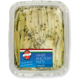 Photo of Sienna White Anchovy Fillets 200gm