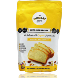 Photo of The Monday Food Co - Keto Bread Mix - Almond White - 300g