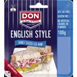Photo of Don English Style Thinly Sliced Leg Ham 100g
