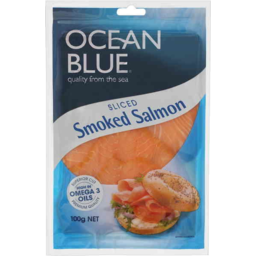 Photo of Ocean Blue Smoked Salmon (100g)