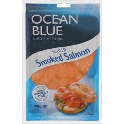 Photo of Ocean Blue Smoked Salmon 100gm