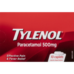 Photo of Tylenol Paracetamol Tablets 500mg 10 Pack