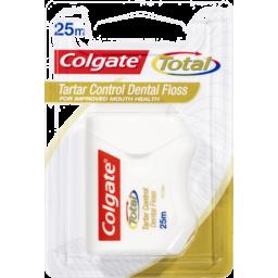 Photo of Colgate Total Dental Ribbon Tartar 25 Mtr