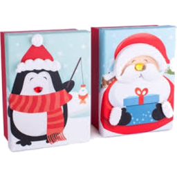 Photo of Cachet Santa & Penguin Chocolate 180g