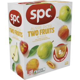 Photo of Spc Diced Two Fruits In Juice 8x120g