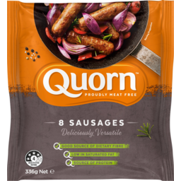 Photo of Quorn Meat Free Sausages 8 Pack 336g