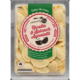 Photo of Community Co Fresh Pasta Spinach & Ricotta Agnolotti 625g