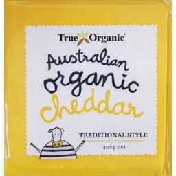 Photo of True Organic Cheddar 200g