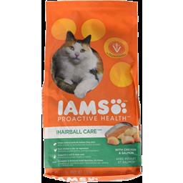 Photo of Iams Cat Hairball Chicken Salmon 1.59kg