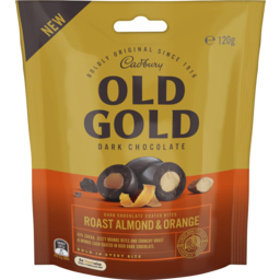 Photo of Cad Old Gold Almd Orange Bites 120gm