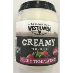 Photo of Westhaven YOGHURT BERRY TEMPTATION 200GM