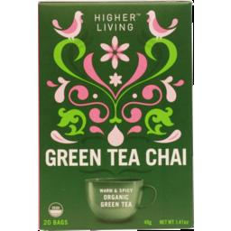 Photo of Higher Living Green Tea Chai 40g
