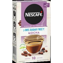 Photo of Nescafe Coffee Mixes 98% Sugar Free Mocha 14gx10