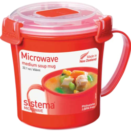 Photo of Sistema Klip It Microwave Soup Mug