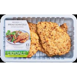 Photo of Lilydale Chicken Breast Schnitzel 400g