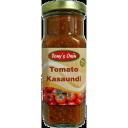 Photo of Tonys Own Tomato Kasaundi 250g