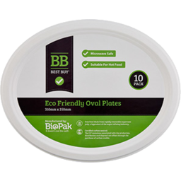Photo of Best Buy Eco Plates Oval 10pk