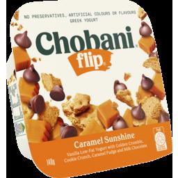 Photo of Chobani Flip Greek Yogurt Caramel Sunshine 140g