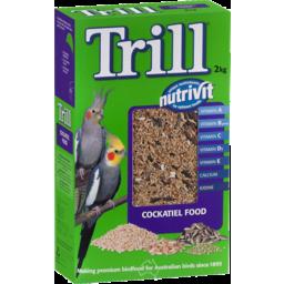 Photo of Trill Nutrivit Cockatiel Food 2kg