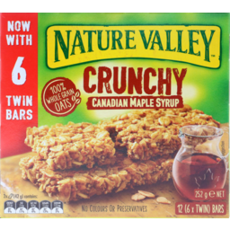Photo of Nature Valley Crunchy Bar Canadian Maple Syrup 252g